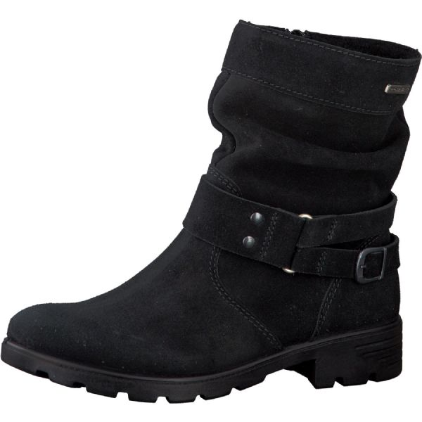 Ricosta RICARDA Waterproof Leather Boots (Black)